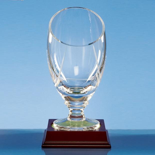 20cm Handmade Slope Top Presentation Vase