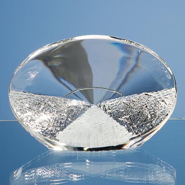 14cm Mario Cioni Lead Crystal Path to Success
