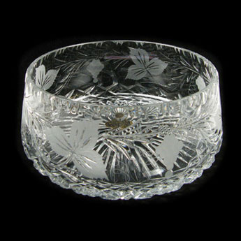 9 inch Straight Sided Bowl Grapevine