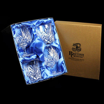 Presentation Box of 2 Brandy & 2 Whisky Westminster